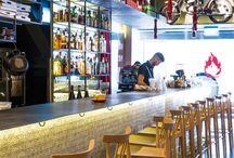 Diferentes bares,restaurantes e cafés / Bares
