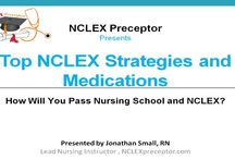 Live NCLEX Webinar Events and Training Videos / Live events and training videos for NCLEX that will help you pass NCLEX exams and nursing school
