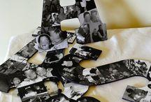 DYI Photo Letters :D