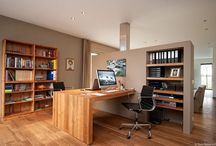OfficeSpace inspiration TRAMKADE / To give my new office space a creative  but spacious and efficient look, I went looking for inspiration on Pinterest.  It's 22m2 room 3,289m 6,207m including 1m2 closet.