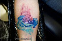 watercolour tattoo / Watercolour tattoo selection