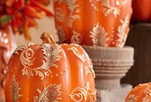 Pumpkin Decor / by Linda  Bell