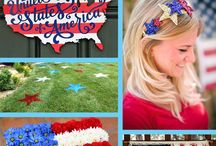 Patriotic Projects / Get creative with red, white and blue! Great for the 4th of July, Labor Day & Memorial Day projects