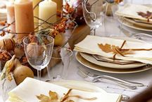 table settings  / by Lindy Plocktis