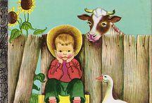 Little Golden books,Quiet books & Other Children Books / by J Heart Treasures