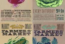 << Farm Market Signs >> / by GR2Food Institute