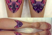 Watercolour Tattos