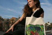 Tote bags designs TodavíabyRegina / All the #designs, #art, #illustration are done by me.