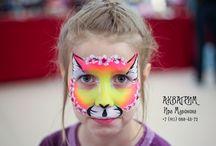 my facepainting MALINA / My art  #аквагрим #аквагример  #грим #маска #гример #спб #bodyart #рисунокналице #мастер #бабочка #арт #faceart #творчество
