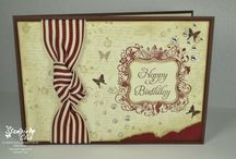 Birthday - Cards & craft ideas with Stampin' Up! / Card and craft ideas, most with Stampin' Up!