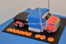 Optimus prime cake / by Nicole Winn