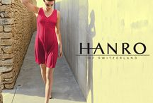 Hanro - Luxury Lingerie and Sleepwear / Hanro has been worn by everyone from Marilyn Monroe to Pope John Paul II. To celebrate its 130th year the company looks back to its knitting heritage. On screen from Marilyn Monroe's knickers, in the famous subway scene as her skirt blows up, to Nicole Kidman's intimates of choice in Eyes Wide Shut, yes its all Hanro of Switzerland. The luxury brand quietly dominating the luxury lingerie market among celebrated names & the jet set. Just to name a few ... Donatella Versace to Beyoncé.