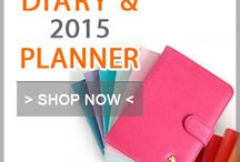2015 Diary and Planner / Meet the awesome and useful diary and planner for 2015 new year! Kawaii and cute Diaies and planners keep you organized everywhere you go. / by Fallindesign