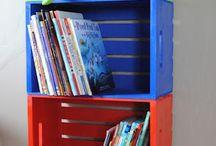 School - Lezen - Boekenkast