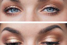Make up / How to do make up . Eye, lipstick, face