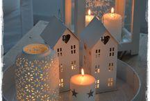 Świąteczne dekoracje skandynawskie