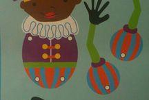Sinterklaas en zwarte Piet / 5 december