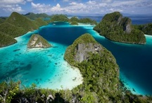 I love the blue of Indonesia