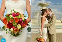 Weddings | The Flowers / Wedding bouquets, wedding centerpieces, unique and lovely wedding flowers