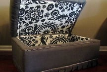 reupholstered or upcycled
