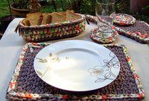 T-shirt yarn crochet / T-shirt yarn