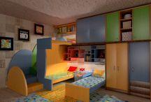 Planner 5D designs: kids rooms