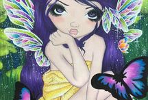 Coloring: Jasmine Becket Griffith