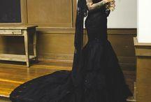 Power Pins / Award Winning Custom Wedding Dresses from WeddingDressFantasy.com CoutureDeBride.com. Gothic, Black, Red, and Modest Wedding Dresses Worldwide Shipping