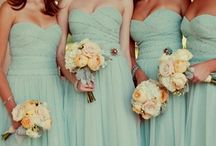 Bridesmaids dresses / by Kirsty Rawlinson