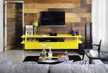Salas modernas / Tendência do momento, as salas modernas transmitem, ao mesmo tempo, conforto e descontração, sempre deixando transparecer a personalidade dos moradores.