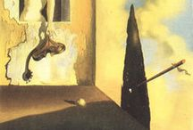 Salvador Dali / 1904 in Figueres, Spain -1989; Figueres, Spain - Surrealism. Field: painting, sculpture, drawing, photography. Influenced by: Giorgio de Chirico, Arnold Böcklin, Pablo Picasso, Joan Miro, Yves Tanguy, Max Ernst, Dada, High Renaissance. Influence on: Max Ernst, Jackson Pollock, Mark Rothko, Surrealism, Abstract Expressionism, Pop Art, Performance Art, Conceptual Art Art institution: Real Academia de Bellas Artes de San Fernando, Madrid, Spain. Friends & Co-workers: Man Ray, Andy Warhol
