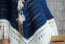 Crochet - Ponchos/Capas/Chales