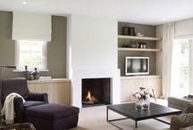 Stijlbord: modern landelijk interieur / een landelijke woonstijl met een strak vormgegeven basis