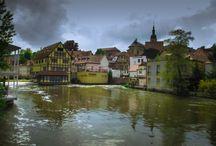 Бамберг. Bamberg / Если у вас появилось желание увидеть действительно старинный город Германии, отправляйтесь в Бамберг.