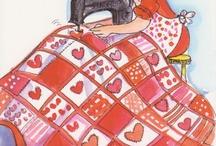 SCISSORS, STITCHINNG AND LINES / Costurando a vida em ilustrações.