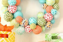 Easter and Spring Ideas / Decoration and food ideas for Easter and spring.