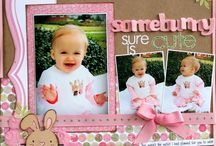 Scrapbook Pages / by Peggy Rauch