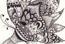 Tangled in Zentangles / by Brittany Long