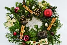 Christmas arrangements by Unique flowers