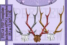 CU freebie's that are on my blog / CU freebies I have made and posted on my blog.