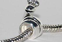Sølv charms