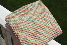 crochet double thick hot pad