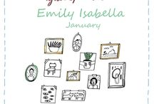 Friends of Flow January 2018 / Every month a Friend of Flow will host a special board, pinning everything he or she finds inspiring. In January 2018 this will be illustrator Emily Isabella.