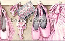 Voor de meiden! kamer inrichten / Behang, randen en stickers voor meisjeskamers en girlsrooms