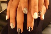 ~Nails, Nails, Nails~ / Favorite nail designs and colors / by Liz Weavers