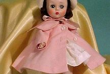 M.A. Vintage Dolls (Except Cissy,Cissette, Lissy & Elise) / Vintage Madame Alexander Dolls of NY, USA in Original Costumes. I have created new boards for Cissy, Lissy and Elise dolls. / by Lucy Funk