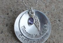 Mommy of an Angel / Necklaces to remember angel baby