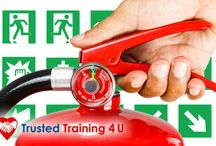 Fire safety training courses / An effective fire prevention programme includes training employees in spotting fire hazards and carrying out proper procedures if a fire does occur.