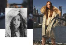 #PEUTEREY FW17/18 ADV CAMPAIGN / Photographer : Alessio Boni  Model : Miles McMillan and Ine Neefs  Creative Director : Giovanni Bianco  Styling : Tom Van Dorpe  Hair: Holli Smith  Make Up: Ayako  Location: Brooklyn Bridge, New York