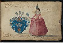 Costume history emblems